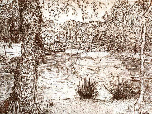 Allen Rollie, Stone Bridge over Goodacre Lake